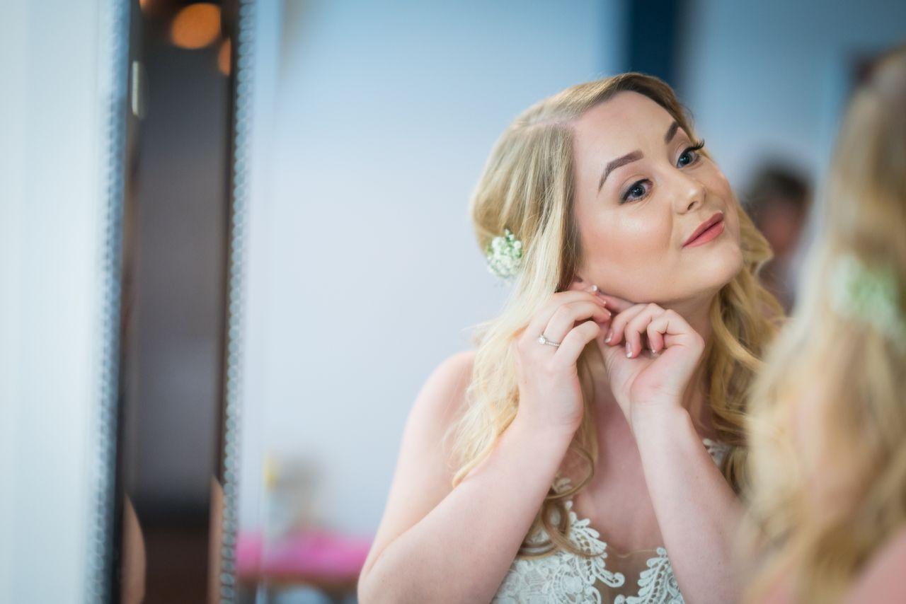 Client Photo for Bridal Makeup Artist Portfolio