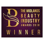 Midlands Beauty Awards Winner Badge 2018