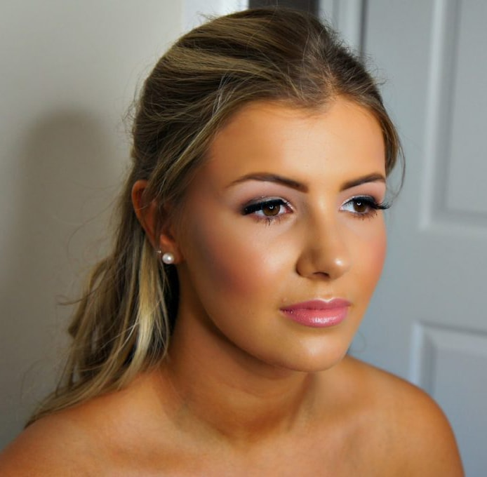 Client Photo for Introduction to Prom Makeup Artist